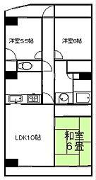 サンライフ取手A棟[11階]の間取り