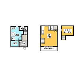 MS−one[1階]の間取り