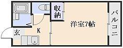 沖野ハイツ[1階]の間取り