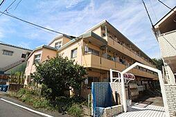 東京都東久留米市前沢5の賃貸マンションの外観