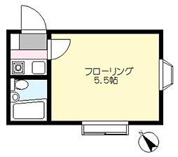 洗足池駅 4.5万円