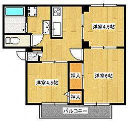 カーサセラ[2階]の間取り