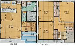 [テラスハウス] 北海道札幌市南区澄川六条8丁目 の賃貸【/】の間取り
