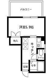 小林ビル[3階]の間取り