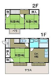 [一戸建] 神奈川県相模原市南区上鶴間7丁目 の賃貸【神奈川県 / 相模原市南区】の間取り