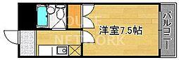 バルコ衣笠[311号室号室]の間取り