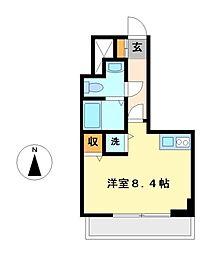 愛知県名古屋市中川区西日置1丁目の賃貸マンションの間取り