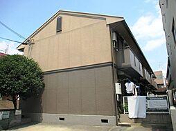 兵庫県尼崎市昭和通1丁目の賃貸アパートの外観