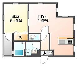 仮)内田橋新築AP[1階]の間取り