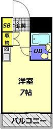 メゾン・ド・ノア大和田[301号室]の間取り