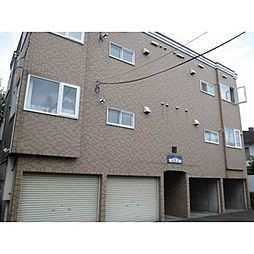 北海道札幌市中央区北十七条西15丁目の賃貸アパートの外観