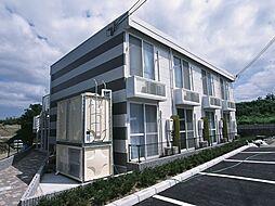 兵庫県三田市下深田の賃貸アパートの外観