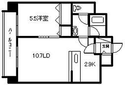 北海道旭川市一条通15丁目の賃貸マンションの間取り