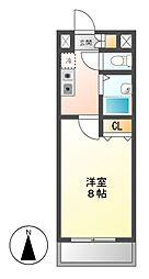 マーブルクレスト五軒家[3階]の間取り