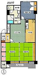 東照宮駅 徒歩2分2階Fの間取り画像