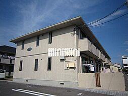 岡山県岡山市南区福浜町の賃貸アパートの外観