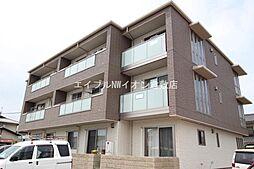 岡山県倉敷市新倉敷駅前5丁目の賃貸アパートの外観