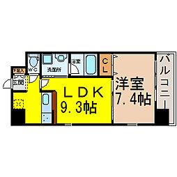 nextage sakurayama(ネクステージ桜山)[205号室]の間取り