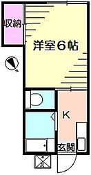 エスプレシーボ白楽[1階]の間取り
