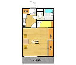 レオパレスAKURA3[1階]の間取り