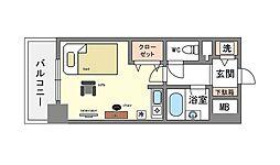 家具・家電付き イトーピア天神東リノルーム[2階]の間取り