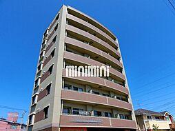 宮城県仙台市泉区市名坂字萩清水の賃貸マンションの外観