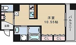 ルネ日本橋アネーロ[7階]の間取り