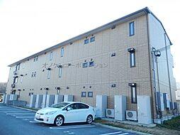 兵庫県三木市志染町青山5丁目の賃貸アパートの外観