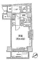グランフォース東高円寺[4階]の間取り