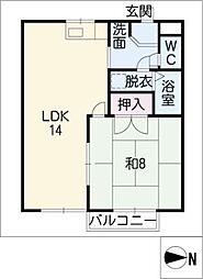 エトワール浅草B棟[1階]の間取り