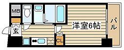 メロディア塚本[3階]の間取り