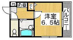メゾンフルール[4階]の間取り