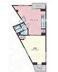 泰興ビル[3階号室]の間取り