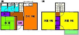 [テラスハウス] 静岡県浜松市東区子安町 の賃貸【静岡県 / 浜松市東区】の間取り