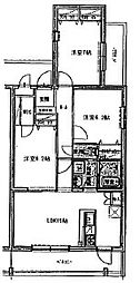 (仮)青島マンション[4階]の間取り