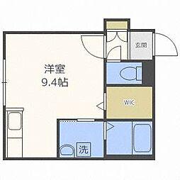 YUGO'S中島[4階]の間取り