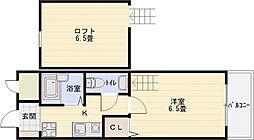 オレンジハウス2[4階]の間取り