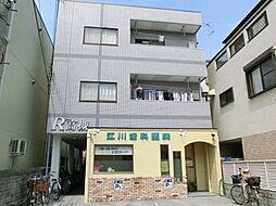 大阪府高槻市城南町3丁目の賃貸マンションの外観