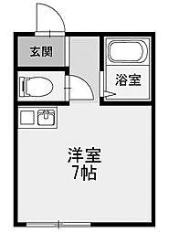 プランドール共和[2階]の間取り