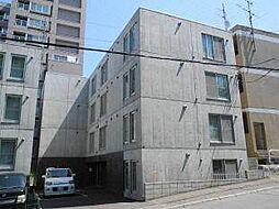 北海道札幌市白石区南郷通1丁目南の賃貸マンションの外観