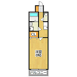 メゾン・ビロング[2階]の間取り