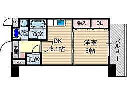 サクシード胤[2階]の間取り