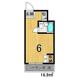東栄ビル[402号室]の間取り
