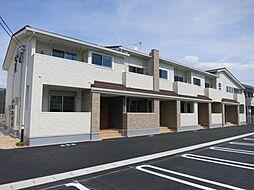 愛知県西尾市徳永町稲場の賃貸アパートの外観