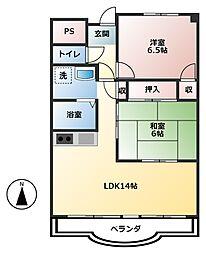 VIVRE21[2階]の間取り