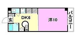 アビターレ・エッセ[105 号室号室]の間取り