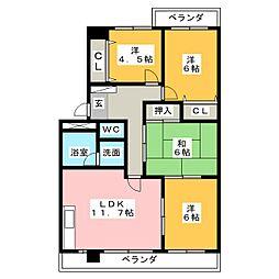 ARCHE[3階]の間取り
