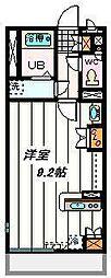 埼玉県川口市戸塚3丁目の賃貸マンションの間取り