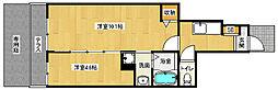 京都府京都市伏見区石田森東町の賃貸アパートの間取り