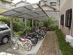 愛媛県松山市北井門5丁目の賃貸アパートの外観